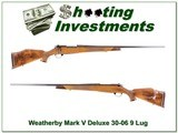 Weatherby Mark V Deluxe 30-06 9-lug 26in