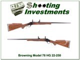 Browning Model 78 7mm Rem Heavy Barrel like new