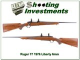 Ruger 77 1976 Liberty rare 6mm Red Pad