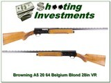 Browning A5 64 Belgium 20 Gauge 28in VR Modified