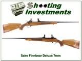 Sako Finnbear Deluxe 7mm Rem Mag unfired! - 1 of 4