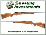 Weatherby Mark V Deluxe 1961 German made!