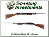 Winchester Model 12 harder to find 16 Gauge