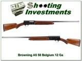 Browning A5 58 Belgium 12 Ga