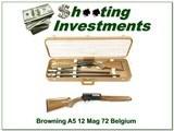 Browning A5 12 Magnum 72 Belgium 2 barrel set - 1 of 4
