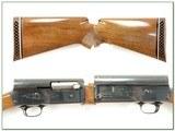 Browning A5 12 Magnum 72 Belgium 2 barrel set - 2 of 4