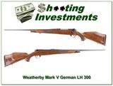 Weatherby Mark V Deluxe German Left Handed 300!