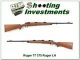 Ruger 77 Hawkeye LH 375 Ruger