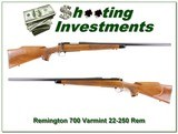 Remington 700 BDL Varmint Special in 22-250 Rem Heavy Barrel