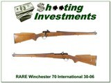Winchester 70 RARE Mannlicher 30-06 Collector!