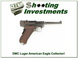 1906 DWM Luger American Eagle Collector!