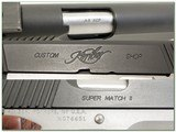 Kimber Super Match Custom Shop 45 ACP as new in case - 4 of 4