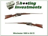 Winchester 1895 in hard to find 38-72 WCF 1903 - 1 of 4