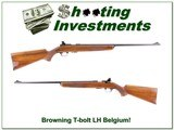 Browning Belgium T-bolt Deluxe RARE Left Handed!