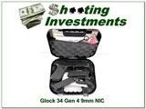 Glock 34 Gen 4 9mm new & unfired in case