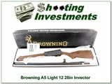 Browning A5 Light 12 28in Invector in box!
