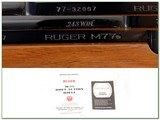 Ruger 77 Red Pad 243 with Redfield near NEW! - 4 of 4