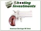 American Derringer 9mm Model 1 M1 Excellent