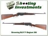 Browning BLR 71 Belgium 308 MINT!