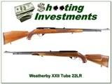 Weatherby XXII Tube Honey colored wood!