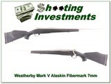Weatherby Mark V Alaskan Left Handed 7mm Wthy