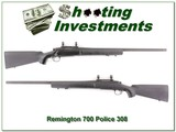 Remington 700 308 Win Mag Police 26in Heavy Barrel