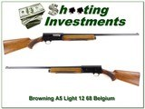Browning A5 Light 12 68 Belgium blond