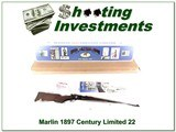 Marlin 1897 CL Century Limited 22 rimfire High Grade NIB!