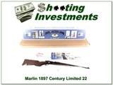 Marlin 1897 CL Century Limited 22 rimfire High Grade NIB!