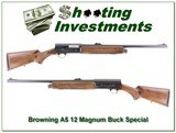 Browning A5 12 Magnum Exc Cond with Buck Barrel