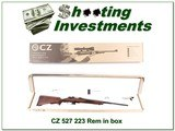 CZ 527 223 in the box 1:12 twist