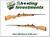 Sako AIII Deluxe 30-06 Blond Wood!