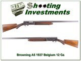 Browning A5 12 Ga 37 Belgium collector! - 1 of 4