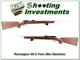Remington 40-X Custom Shop 7mm Rem Mag