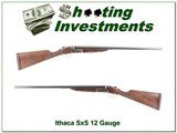 Ithaca 12 Ga SxS Field grade 26in fully restored!
