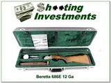 Beretta 686E 12 Ga Exc Cond in case