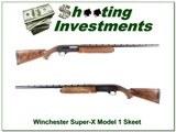 Winchester Super-X Model 1 Skeet XX Wood!