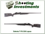 Dakota T-76 Longbow hard to find and early 338 Lapua