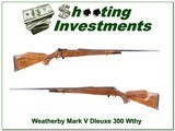 Weatherby Mark V Deluxe 300 XX Wood Exc Cond!