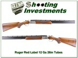 Ruger Red Label 12 Gauge extra nice wood Red Pad