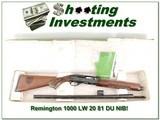 Remington 1100 LW-20 Ga 1981 Ducks Unlimited NIB!