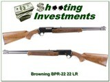 Browning BPR 22 LR early model nice!