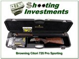 Browning Citori 725 Pro Sporting 20 Gauge 32in ANIC