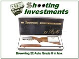 Browning 68 Belgium Grade II 22 Auto in BOX!