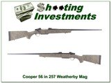 Cooper Model 56 in 257 Weatherby Magnum