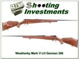Weatherby Mark V Deluxe Left Handed German!