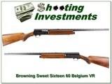 Browning A5 Sweet Sixteen 60 Belgium VR