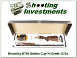Browning BT-99 Golden Clay 34in Trap 12 Gauge