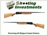 Browning A5 Sweet Sixteen 69 Belgium Vent Rib