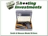 Smith & Wesson Model 59 9mm in original box